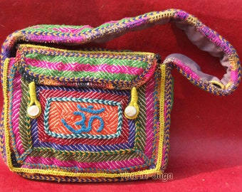UNIQUE bag Baba Bag Sadhu Sadhu Boho 100% handicraft Indian India Tha-daga 15