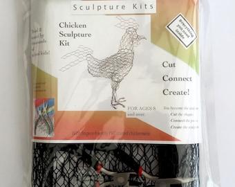 ChickenWired sculpture kit - Chicken kit.