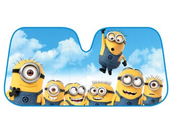 MINION SUNSHADE..So Cute