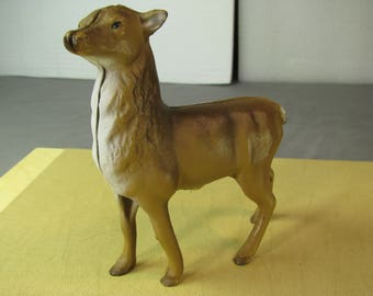 Painted Cast Iron Bank Female Elk