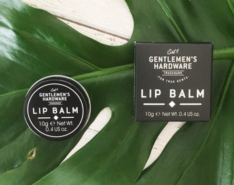 Men's Lip Balm, Men's Grooming, Father's Day, Men's gifts, Bodycare. 10g