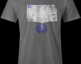 Kansas Roots, Kansas shirts, Kansas T-shirt, Jayhawks T-shirt