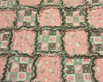Dream Big Little One Baby Quilt