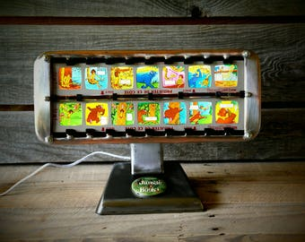 The Jungle Book Light by Thermor lamp vintage French
