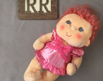 "18"" Vintage Hugga Bunch Doll Pink Huggins"