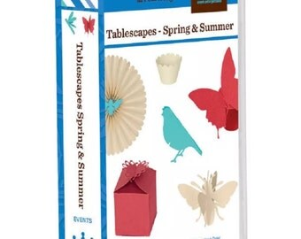 New! Factory Sealed! Tablescapes Spring / Summer Cricut Cartridge