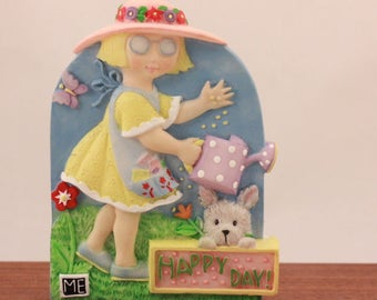 Mary Engelbreit Poly Stone Happy Day Magnet.