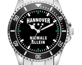 Hanover - never alone - men's wristwatch 2360