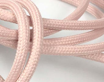 Textile cable node collection - pink powder