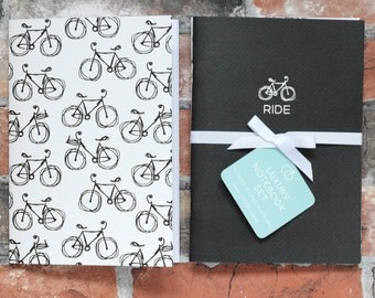 Bike Notebook -  Luxury A5 Notebook Set