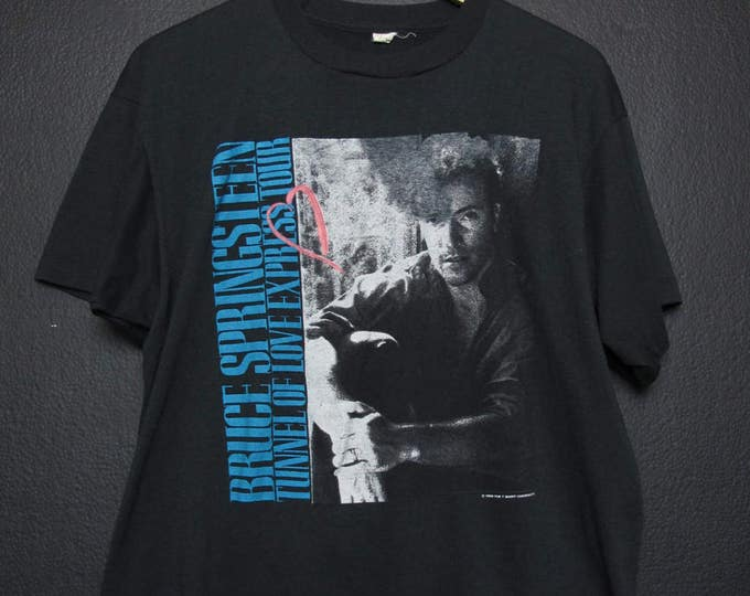 Bruce Springsteen Tunnel of Love 1989 vintage Tshirt