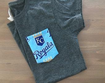 Pocket Tee with Kansas City Royals Pocket