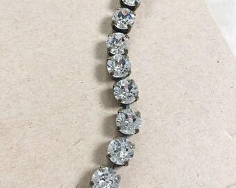 Swarovski Crystal Bracelet in Crystal Clear