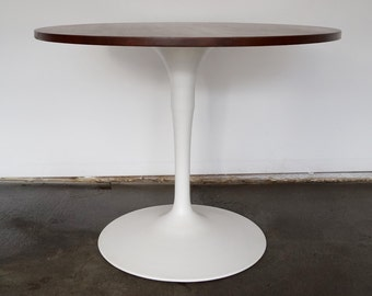 Beautiful Mid-Century Modern Space Age Tulip Dining Table w/ Wood Top - Professionally Restored!