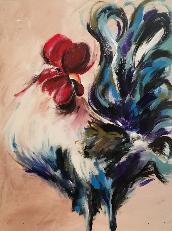 Original Rooster Paint...