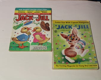 Jack and Jill Magazine from 1960's (P22)