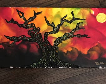 Melted Crayon Sunset
