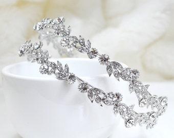 Crystal Bridal Headpiece, Wedding Headband, Bridal Headpiece, Crystal Headpiece, Wedding Headpiece, Wedding Headband, Silver Headpiece