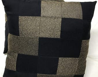 Streak of Lighting Patchwork Pillow Set