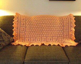 """Accent Throw  - """"Just Peachy"""""""