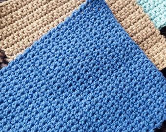 Crochet Washcloth/Dishcloth/ Spa gift