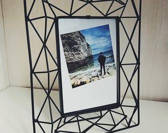 Geometric photo frame
