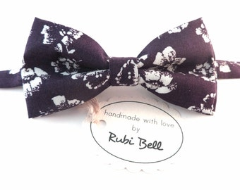 Bow Tie - purple bow tie - man bow tie - men bow tie - gifts for him - wedding bow tie
