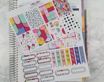 Beautiful Geometric Inspired Weekly Kit