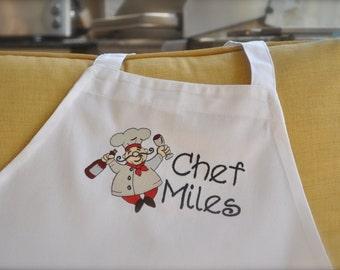 Personalized Apron, Chef apron,  Wine enthusiast apron, Apron for him, monogram apron