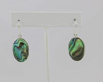 Abalone Sterling Earring