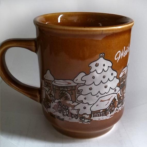 German Christmas Market Mug