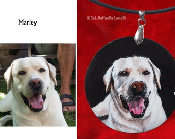Examples of custom painted pendant-5 cm/2in diameter-here you can order your pendant! HERE you can order your own custom pendant!