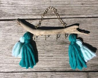 Handmade tassel jewellery or key hooks