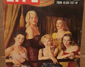 Life Magazine November 21, 1955 Jane Mansfield on Cover! Excellent Condition!