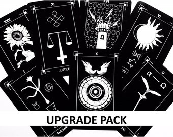 Upgrade Card Pack for 1st Edition Dark Exact Tarot Deck