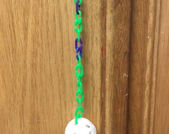 Golf Ball Bird Toy Hanging New