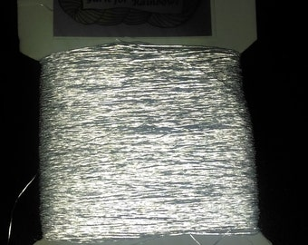 Light Reflective Thread, Hi Vis, knit/crochet/weave in/embroidery