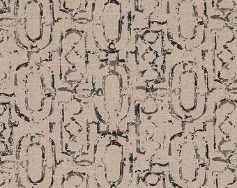 Decorative Pillow Miramar Geometric Granite Black