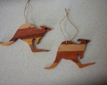Unique Wooden Kangaroo Related Items Etsy