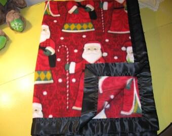 Soft Fleece Blanket - St. Nick