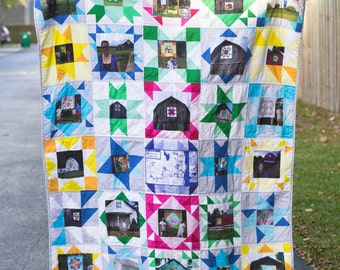 Quilt Barn Trail Photo Quilt