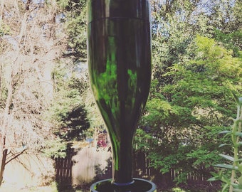 Champagne Bottle Bird Feeder 'Champagne is for the birds'