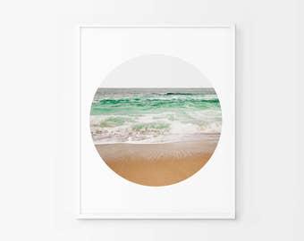 Beach Photography, Beach Print, Beach Decor, Beach , Waves Art, Waves Decor, Waves Print, Summer Print, Summer Photography, Digital Download