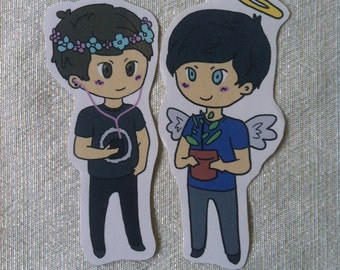 Dan and Phil stickers~