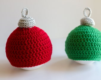 READY TO SHIP Baby Christmas Ornament Hat, Infant Hat, Newborn Holiday Hat, Toddler Character Hat, Niece Nephew Gift, Photography Prop