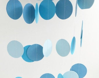 Blue Circle's Paper Garland Decoration