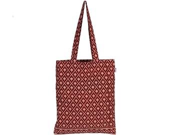 FALZAR Handloom Cotton eco friendly Reusable Shopping Tote Bag