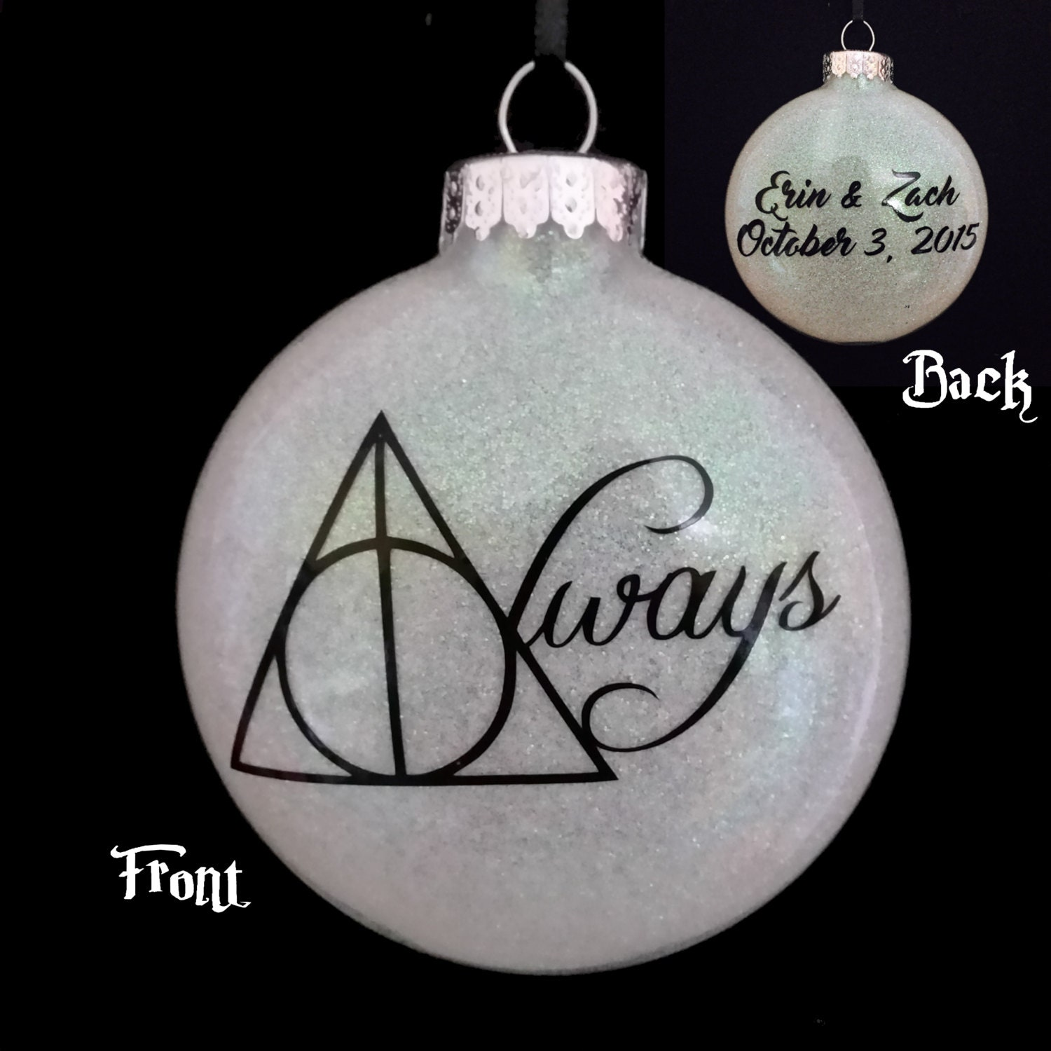 Personalized wedding christmas ornament - Customized Harry Potter Ornament Always Great Valentine S Day Wedding Anniversary Gift