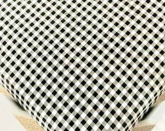 black and white gingham crib sheets modern baby sheets black and white
