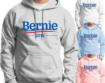 Bernie Sanders 2016 Hoodie Presidential Campaign Vote for Sanders Adult and Youth Hoodies Vote Sanders For President 2016
